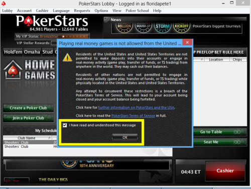 Pokerstars android requirements